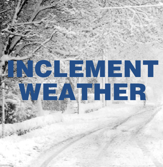 Inclement Weather – Bus Cancellation