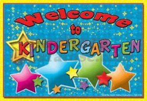 St. Emily Welcome to Kindergarten