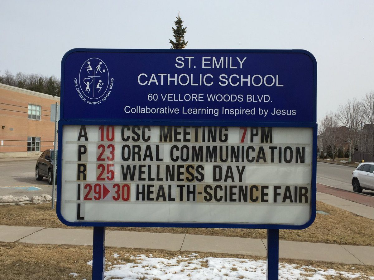 April 2019 Events at St. Emily